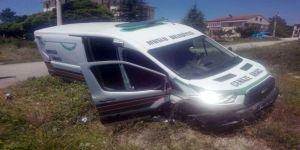 Cenaze Arabası Kaza Yaptı: 1 Ölü