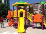 İzmit'in parkları yenileniyor