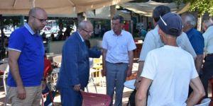 Başkan Albayrak Esnaf Ve Vatandaşlarla Bir Araya Geldi