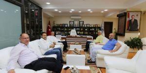 İspiroğlu'ndan, Başkan Dişli'ye Ziyaret