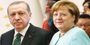 Erdoğan'dan Merkel'e ince mesaj!