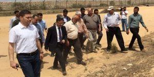 Hamas heyetinden Mısır sınırında inceleme !