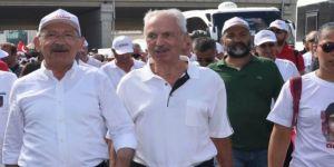 Alemdaroğlu, Adalet Yürüyüşü'nde!