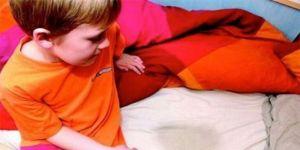 Çocukların alta kaçırma problemine karşı uyku cihazı