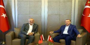 Erdoğan Arnavutluk Başbakanı Rama'yı Kabul Etti