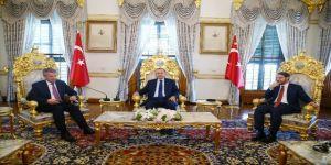 Cumhurbaşkanı Erdoğan Shell Dünya Başkanı Beurden'ı Kabul Etti