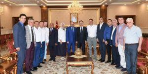 Başkan Üzülmez'den Vali Aksoy'a Ziyaret
