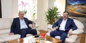 Zeki Aygün, Büyükşehir Genel Sekreterini Ziyaret Etti