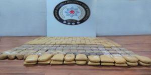 Bitlis'te 100 Kilo Eroin Ele Geçirildi