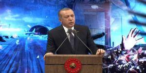 Erdoğan'dan sert tepki: 'Ulan terbiyesizler'