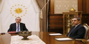 Cumhurbaşkanı Erdoğan, Fidan'ı Kabul Etti