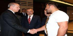 Cumhurbaşkanı Erdoğan, Recep Kara'yı Ağırladı