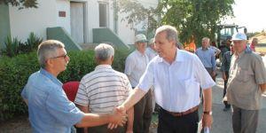 Tarım Bakanı Çelik'in Danışmanı Üreticiler İle Görüştü