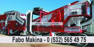 Fabo Makine Mobil Konkasör Sektörün de Rakip Tanımıyor
