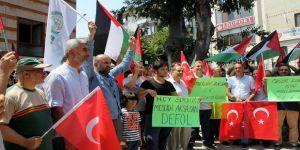 İsrail, protesto edildi