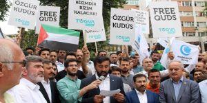 İsrail protesto edildi