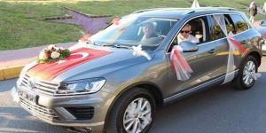 Başkan, şehit ailesinin şoförlüğünü yaptı
