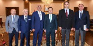 Kömürcüler OSB'den Vali'ye ziyaret