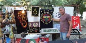 Burhaniyeli Tesisat Ustası Filoğrafi Sanatını Öğretiyor