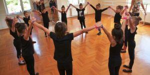 Süleymanpaşa'nın Minik Kuğuları Bale Yaz Kursunda Eğitim Görüyor