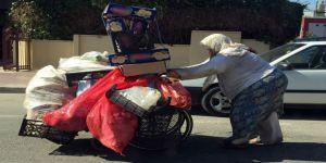 Tekerlekli Sandalyeyle Ekmek Mücadelesi