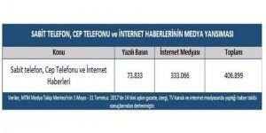 75,7 Milyon Cep Telefonu, 64,3 Milyon İnternet Aboneliği