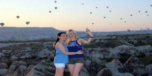 150 Bin Turist Kapadokya'yı Gökyüzünden İzledi