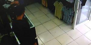 Cep Telefonu Hırsızlığı Kamerada