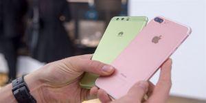 Huawei, Apple'ı yakaladı