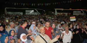 Bilecik'te 170 Hacı Adayı Dualarla Kutsal Topraklara Uğurlandı