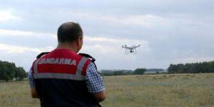 Jandarmadan drone ile kenevir operasyonu