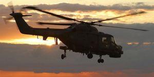 Cezayir'de helikopter düştü: 4 ölü