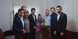 Bilecik Ülkü Ocaklarından Ülkücü Şehit Fikret Derim'in Ailesine Ziyaret