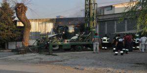Kimyasal Kalem Fabrikasında Yangın: 3 Yaralı