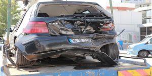 Başkent'te Zincirleme Kaza: 3 Yaralı