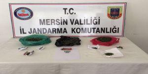 Mersin'de 4 Bin 500 Uyuşturucu Hap Ele Geçirildi