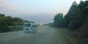 Köylüler Yollarının Asfalt Olmasını İstiyor