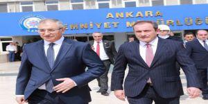 Ankara Emniyet Müdürlüğünde Devir Teslim Töreni