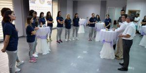 Bozüyük Belediyesi İdman Yurdu Bayan Voleybol Takımı Hazırlıklarını Sürdüyor
