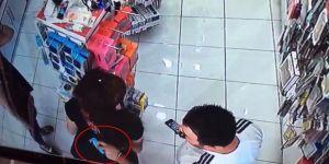 Cep Telefonu Kılıfı Hırsızlığı Kamerada