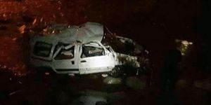 Otomobille Gezmeye Çıkan Çocuklar Kaza Yaptı: 2 Ölü, 3 Yaralı