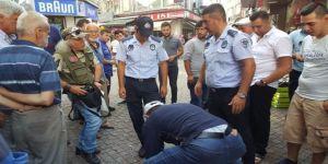 Uyuşturucuyu Rögardan Attı Ama Polisten Kurtulamadı
