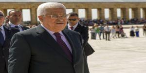 Filistin Devlet Başkanı Abbas Anıtkabir'i Ziyaret Etti