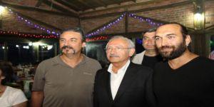 Kılıçdaroğlu Sanatçılarla Yemekte Buluştu