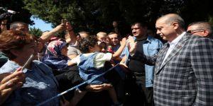 Erdoğan Cuma Namazını Orman Bölge Müdürlüğü Camii'nde Kıldı