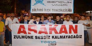 Arakanlılara Yapılan Zulmü Protesto Eden Gruba Hakaret