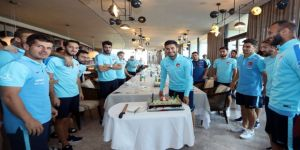 Nuri Şahin'e Doğum Günü Sürprizi