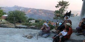 32 Ev Ve 150 Hektar Alan Yandı