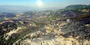 Felaketi Yaşayan Zeytinköy Havadan Görüntülendi