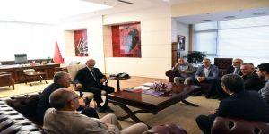 Kılıçdaroğlu, Alevi Bektaşi Federasyonu Heyeti İle Bir Araya Geldi